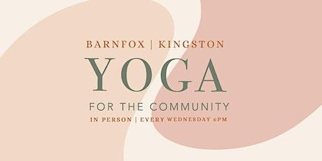 Barnfox Community Yoga tickets