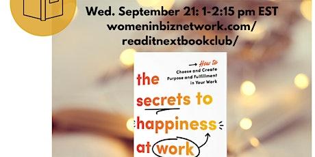 Women in Biz Network Read It Next Book Club tickets