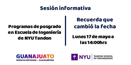 Sesión informativa NYU Tandon School of Engineering entradas