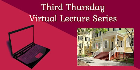Third Thursday Virtual Lecture Series: The Founding of American Cities tickets