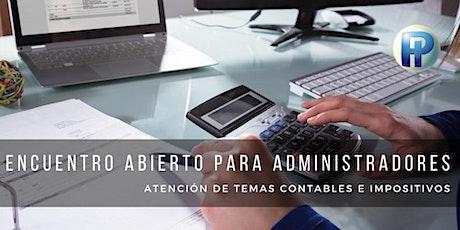 Encuentro para consultas contables e impositivas entradas