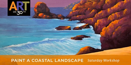Paint a Coastal Landscape in Bold Colors Workshop tickets