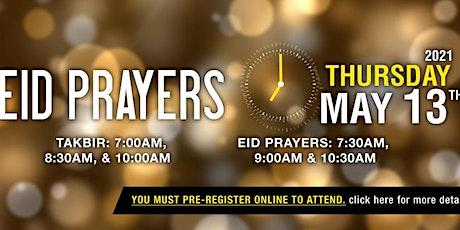 Eid  prayer 7.30am - Takbeer at 7am tickets