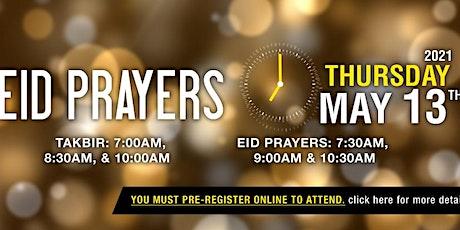 Eid  prayer 10.30am - Takbeer 10am tickets
