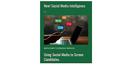 Social Media Intelligence Demo Tickets