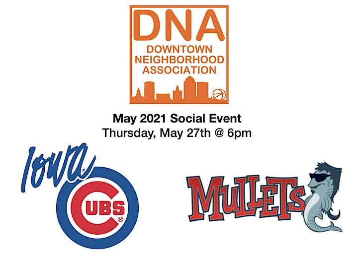 May 2021 Social at I-Cubs Game & Mullets image