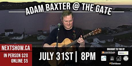 Adam Baxter At The Gate tickets