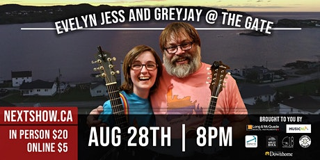 Evelyn Jess and Greyjay At The Gate tickets