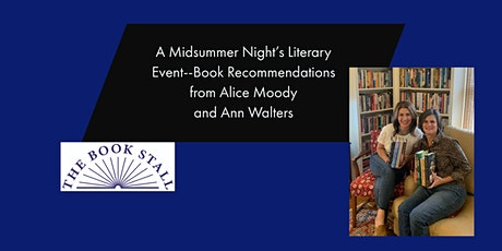 A Midsummer Night's Literary Event: Recommendations You Won't Want to Miss tickets