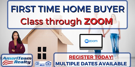 First Time Home Buyer Class (ONLINE) tickets