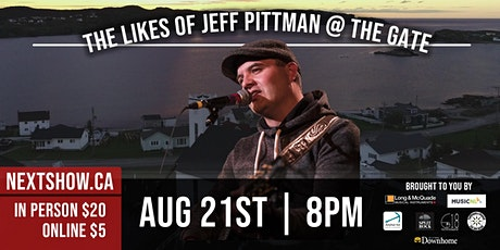 The Likes of Jeff Pittman At The Gate tickets