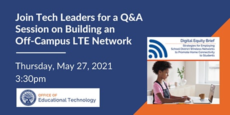 Strategies to Build an Off-Campus LTE Network for Students tickets