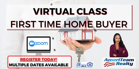 VIRTUAL First Time Home Buyer Class tickets