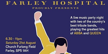 Queen Alive + Abba Stars UK Party for Farley Hospital Almshouses tickets