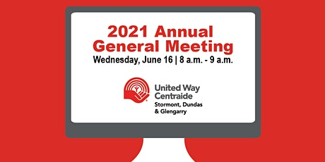 UW Centraide S.D.&G  2020/2021  Annual General Meeting - A Year in  Review tickets