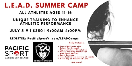PacificSport VI LEAD Summer Camp 2021 tickets