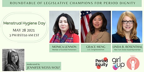 Roundtable of Legislative Champions for Period Dignity tickets