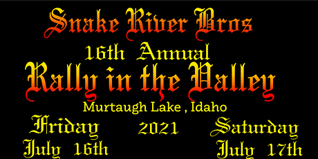 2021 Rally in the Valley tickets