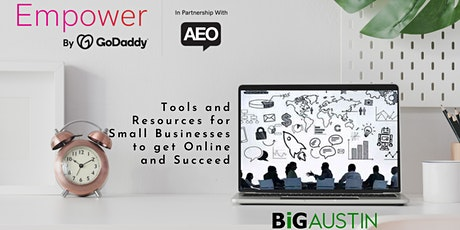 Empower 2.0 Virtual Coaching with GoDaddy experts  - topic:  SEO  - May 19 tickets