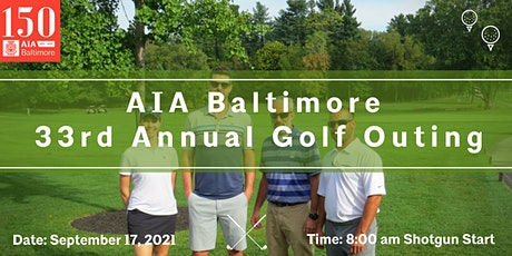 AIA Baltimore 33rd Annual Golf Outing tickets