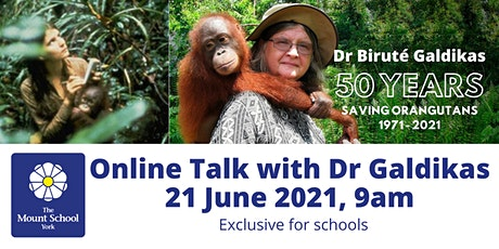 50 Years Saving Orangutans: An Online Talk with Dr Biruté Galdikas tickets