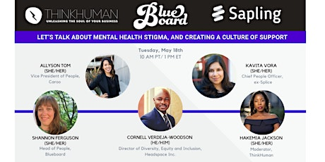 Let's talk about mental health stigma and creating a culture of support tickets