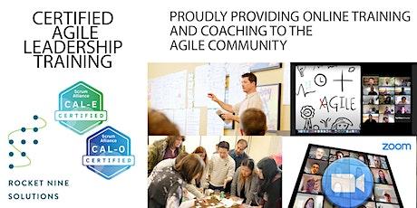 Scott Dunn|Online|Agile Leadership Training Essentials|CAL -E&O| Sept.2021 tickets