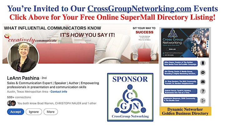 CrossGroup Media Marketing Online SuperMall  for Sales and Business Dev. image