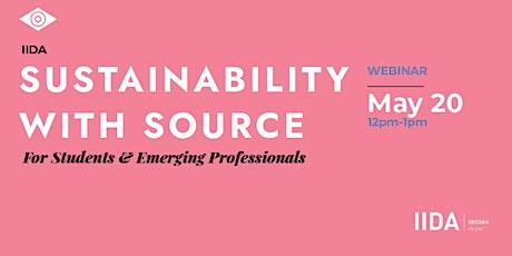 IIDA Oregon Chapter - 2021 Sustainability with Source Student Webinar tickets