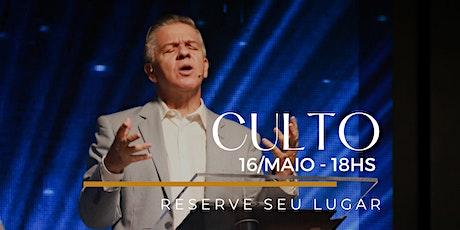 CULTO NOITE | Domingo 16/Maio ingressos