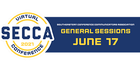SECCA General Sessions 2021 tickets