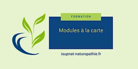 Bionutrition approfondie - Module de formation à la carte Tickets