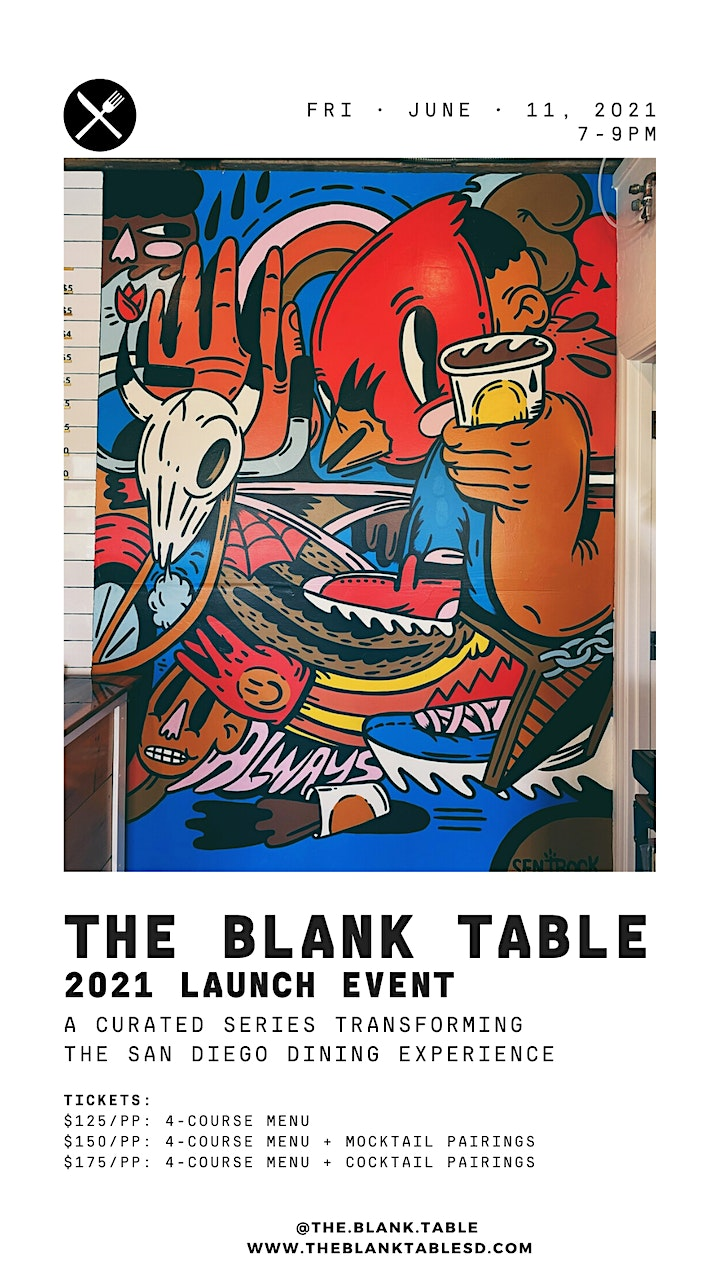 The Blank Table:  2021 Kick Off image
