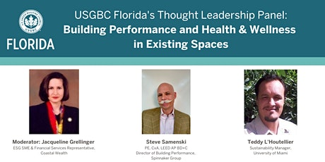 Leadership in Building Performance, Health & Wellness in Existing Spaces Tickets