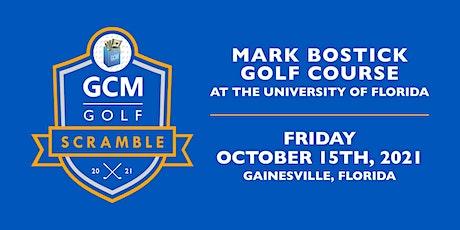 GCM Golf Scramble tickets