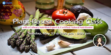 Plant-Based Cooking Class tickets