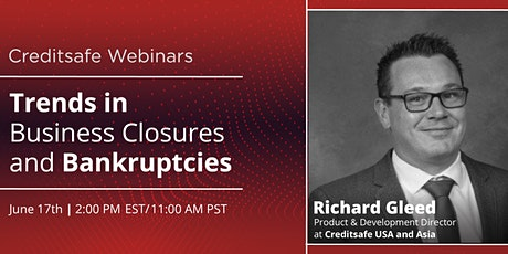 Webinar: Trends in Business Closures and Bankruptcies tickets