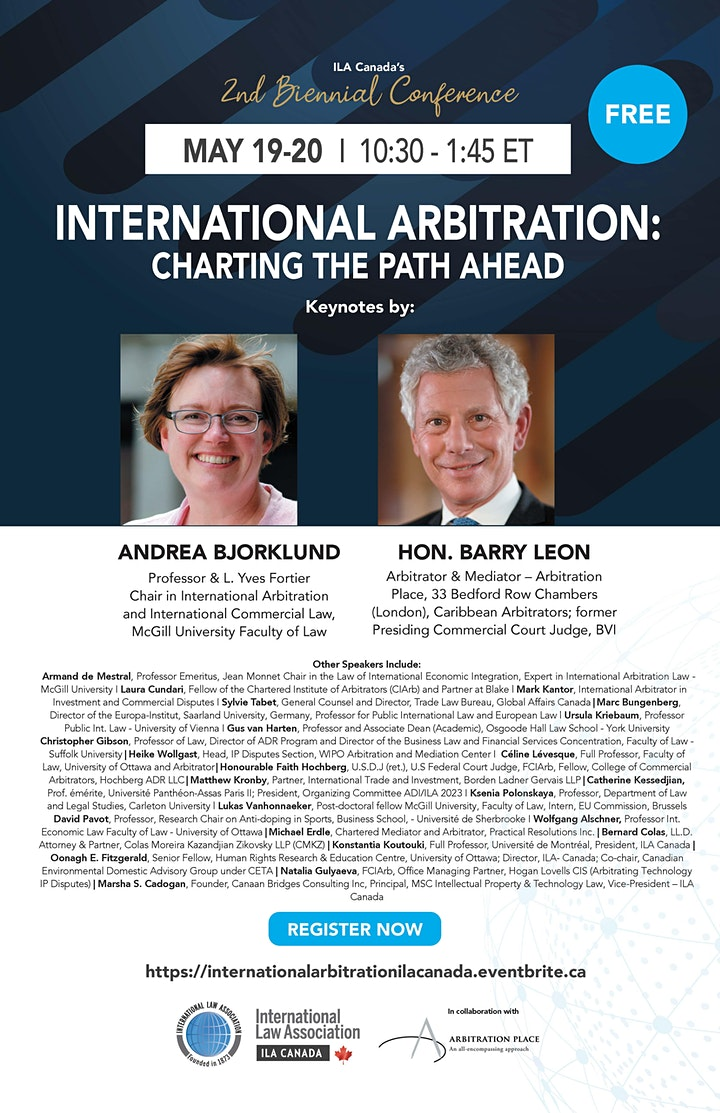 2nd Biennial Conference -International Arbitration: Charting the Path Ahead image