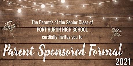 2021 PHHS Parent Sponsored Formal tickets