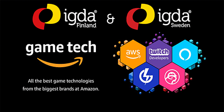 IGDA Finland / Sweden presents: AWS - Analytics for better decision making tickets