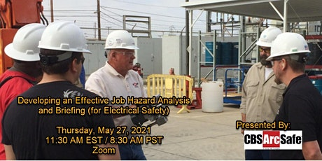 Developing An Effective Job Hazard Analysis & Briefing (Electrical Safety) tickets