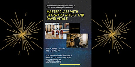 Starward Whisky Master Class with Founder Dave Vitale tickets