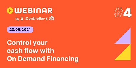 iController webinar #4 - Control your cash flow with On Demand Financing tickets