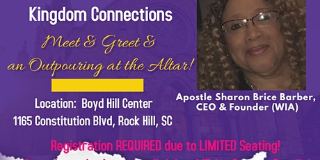 "Women in Action ""Outpouring at the Altar""  REGISTRATION REQUIRED tickets"