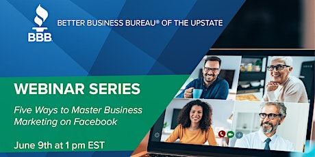 Small business webinar: Five Ways to Master Business Marketing on Facebook tickets