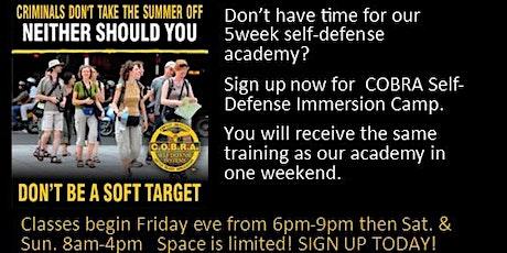 COBRA Self-Defense Immersion Academy tickets