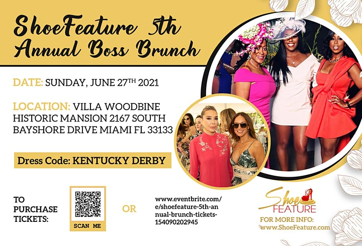 SHOEFEATURE 5TH ANNUAL BOSS BRUNCH image