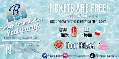 Bowen Orthodontics Community Appreciation Event tickets