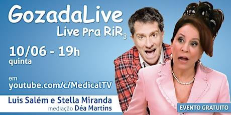 Gozada Live - com Stella Miranda e Luis Salém ingressos