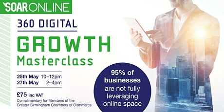 360 Digital GROWTH Masterclass entradas